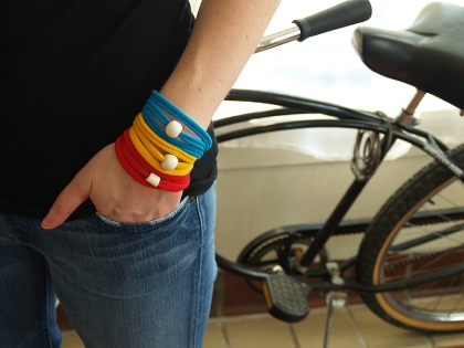 T-shirt Bracelets - Stacked